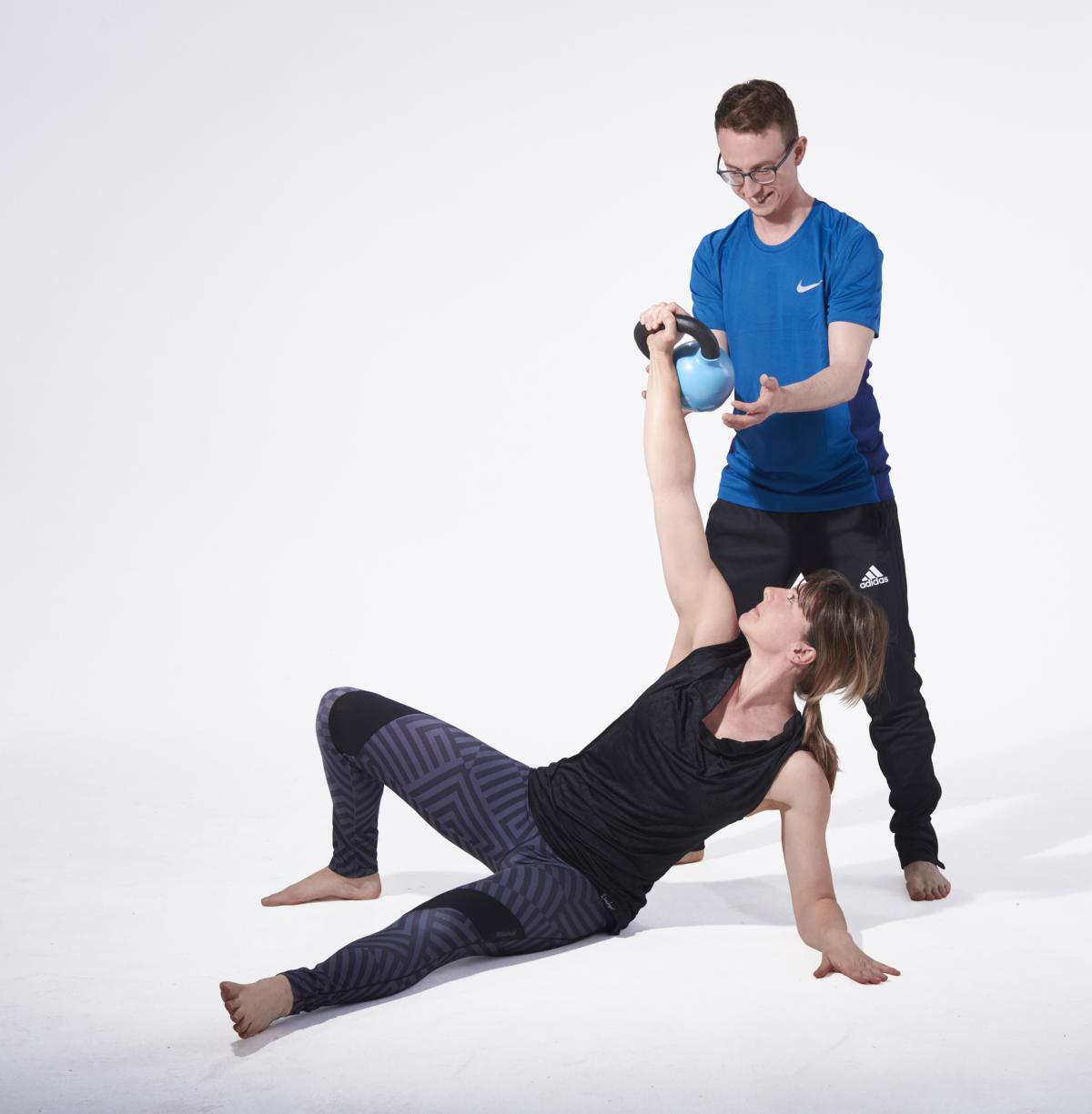 Personal Trainer Muenchen_Turkis get up