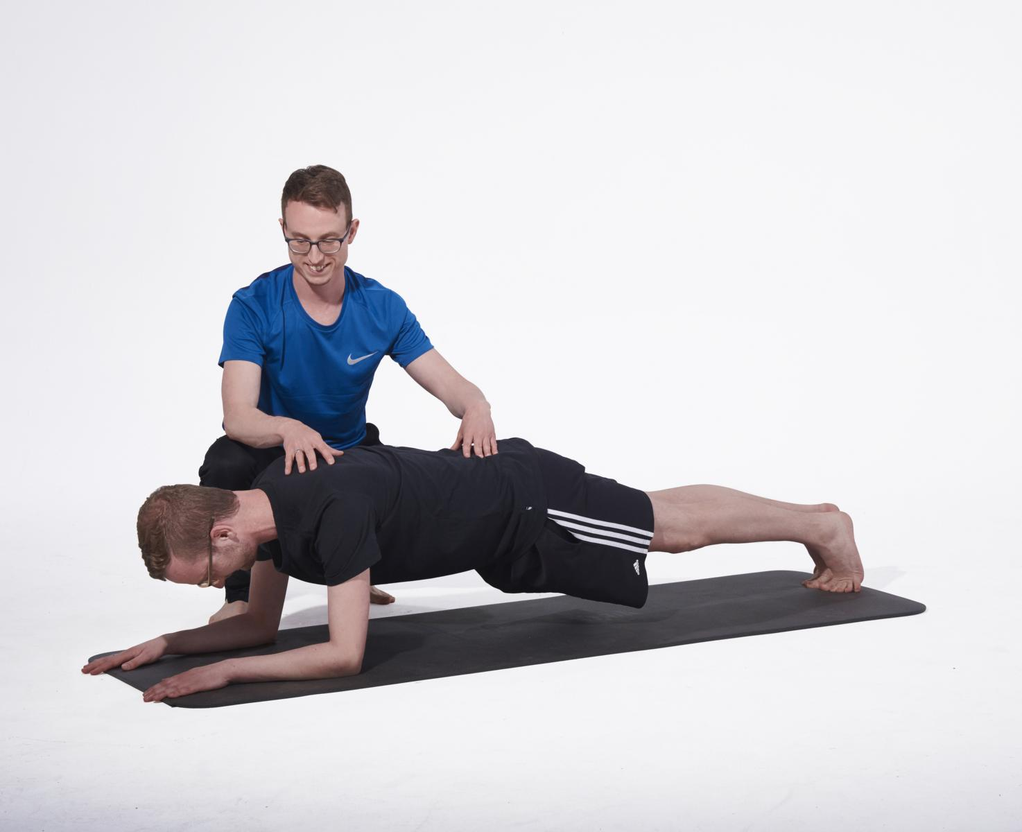 Personal Training Muenchen_Core Plank